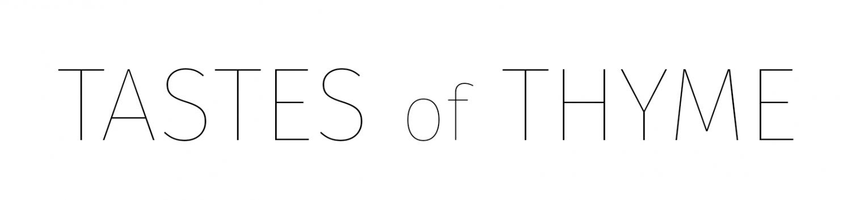 TASTES OF THYME logo